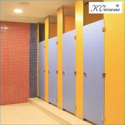 Panel de Laminados compacta resistente al agua Cabinas de baño WC Baño mampara