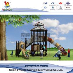 子供のゲームの運動場のスライドの遊園地のおもちゃ