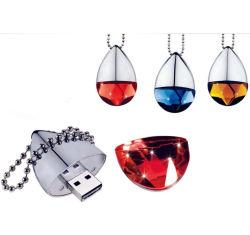La joyería de moda de 8 GB de memoria USB Flash Drive colgante