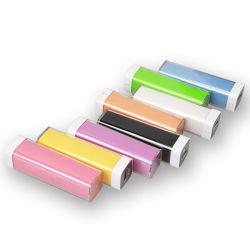 Bank van uitstekende kwaliteit van de Macht van de Lader van de Batterij van de Lippenstift 2600mAh de Draagbare