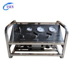 Modèle : Usun Us-Gbd entraînée de l'air à double effet du CO2 ou l'hélium ou l'argon ou de l'azote de l'équipement de la pompe de gavage