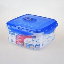 2100 мл BPA свободной площади пластиковый водонепроницаемый чехол для хранения продуктов в салоне/контейнер с силиконом крышки багажника