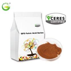 Fertilizante orgánico potasio Humate Fulvic Acid