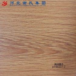 En relief la feuille en PVC pour l'intérieur du film de plastification de panneau décoratif/couvrant