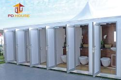 샤워를 가진 휴대용 콘테이너 Singel 이동할 수 있는 화장실을 발송하는 조립식 강철 구조물