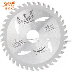 Tct coupe de bois circulaire spécifique avec des dents pointues de lames de scie