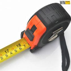 Гибкие резиновые 7.5m 25' складной стальной проволоки зажим для ремня высокого качества с именами или логотипа