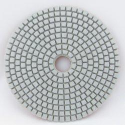 """"""" tampón para pulir flexible del diamante blanco del cristal 4 disponible para el uso seco y mojado"""
