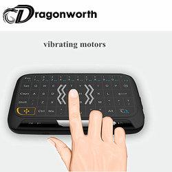 H18 l'air de la souris sans fil avec clavier pour Smart TV Box Mini Air Remote de la souris