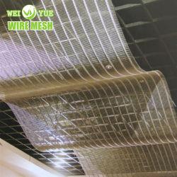 Construção decorativos utilizados Wire Mesh para parede Cortina/Revestimento do Teto