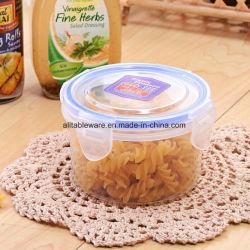 Plástico caliente Ronda Contenedor de comida Lunch box mantener el suministro de la fábrica de almacenamiento de fresco