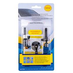 Kit de réparation de pare-brise avec résine de réparation de pare-brise pour Auto Glass Chip de fissure de rayer la réparation