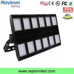 150-200lm/W alloggiamento nero IP66 5 anni della garanzia di alto potere del proiettore 600W 800W 1000W LED di indicatore luminoso di inondazione