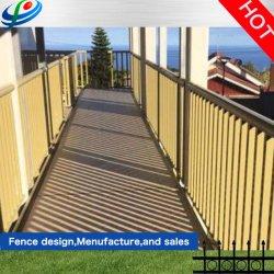 Panel de hierro forjado el uso industrial de acero galvanizado sitio Constrution empalizada jardín vallado de aluminio