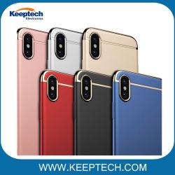 Для iPhone X вариант 3 в 1 Ультра тонкий чехол для Apple iPhone X роскошь ПК жесткий покрытие телефон задней крышки