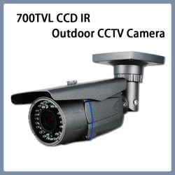 監視700tvlはズームレンズIR CCTVの弾丸の機密保護CCDのカメラを防水する
