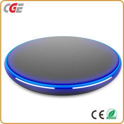 Drahtlose Aufladung für iPhone/Samsung-intelligente Telefon-Verkaufs-Fabrik-direkte Handy-Gebrauch-Ladegerät intelligente Recharger Mobile-Aufladeeinheit