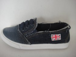 最も新しいデザインはジーンズが付いている注入の学校の靴をからかう