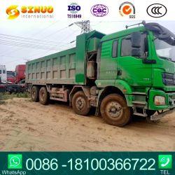 Verwendeter des Shacman Kipper-8*4 zweites Lastkraftwagen mit Kippvorrichtung Handkipper-des LKW-12 der Rad-F3000/M3000, der Ladung des LKW-50tons spitzt
