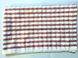 工場OEMの農産物40*65cmのカスタム赤い点検されたジャカード綿のテリーの台所タオル