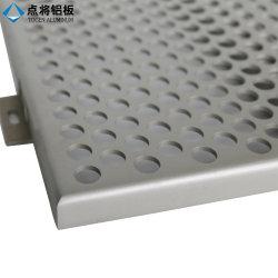 Metal de folha perfurado de alumínio dos furos redondos da fábrica de China