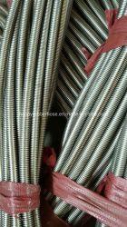 Кольцевой или крыльчатка из нержавеющей стали AISI321 с 304 экранирующая оплетка гибкий шланг металла