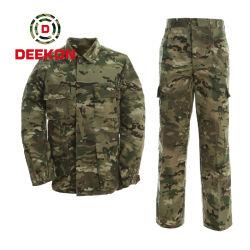 Gevecht van Mens van de Politie van de Uniformen Prefessional van het Leger van de Camouflage van Multicam het Militaire Eenvormige Eenvormige Eenvormige Tactische Eenvormig voor Leger