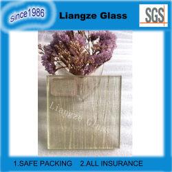заводская цена PVB/EVA 3+3мм четких закаленное декоративные ламинированные защитное стекло