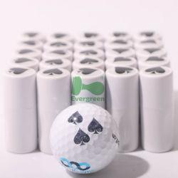 Zegel van de Golfbal van de Teller van de Zegels van de Brief van de golfbal de Witte Uitvoerende
