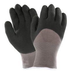 Koud-bewijs 3/4 Handschoenen van het Werk van de Winter van de Kreuk de Latex Ondergedompelde