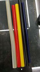 Des bâtonnets de colle silicone noir Bâton de colle bâton de colle hot melt colorés