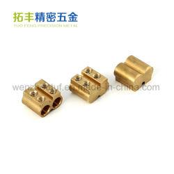 Blocos de terminais elétricos trilho DIN com conexão de pressão