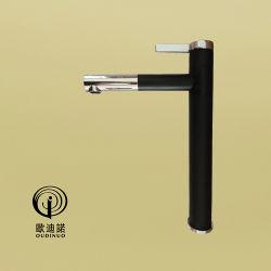 اللون الأسود غير اللامع على الطراز الأوروبي حوض الفوكاسيت ذو الذراع الواحد، الخالط 701311