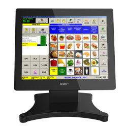 超薄くVFDの顧客の表示が付いている接触POSターミナルタブレットのように