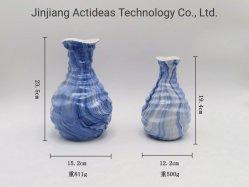 ホーム装飾のための卸し売り中国の花の装飾の中国趣味の陶磁器のつぼ
