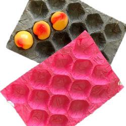 무료 디자인 종이 석류 방습 과일 트레이 라이너