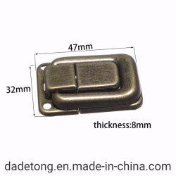 보석함을%s 기계설비 이음쇠 또는 부속품 자물쇠 캐치, 걸쇠 자물쇠, 토글 래치의, 청동색 색깔 자물쇠 버클, 회중시계 딱지, 포도주 상자, 나무 상자 등등