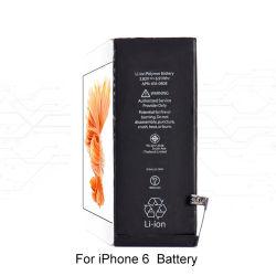 Originele vervangende Apple Li-ion polymeer batterij voor iPhone 6