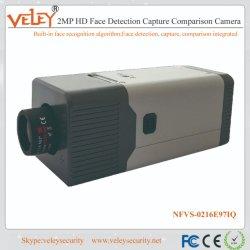 2MP 4K HD Captura de rastreamento de detecção de reconhecimento facial Câmara de comparação