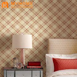Salle de séjour moderne de conception pour la décoration des murs de papier peint