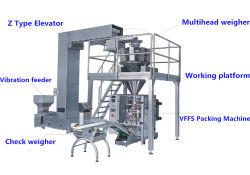 Automatische Elektronische Weger Multihead voor Machine van de Verpakking van de Korrel de Verticale
