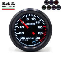 HS8708299000 634-1, Bewegungszeiger-Stab-Erhöhungs-Anzeigeinstrument des Auto-des Motorp.m. des hochgeschwindigkeitsanzeigeinstrument-52mm Auto-Universal7-color LED