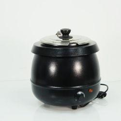 Sopa de buffet caliente, Caldera de la sopa, sopa de eléctrica comercial hervidor de agua más caliente