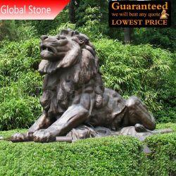 Настраиваемые бронзовая резьба скульптуры животных (GSBR-116)