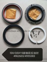 4962603 4955383 установите для двигателей Cummins Isx15 Qsx15 переднего/заднего масляного уплотнения коленчатого вала уплотнительной прокладкой