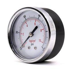 100mm Wasserhydraulik-Test Manometer / Hochtemperaturdruck Messgerät