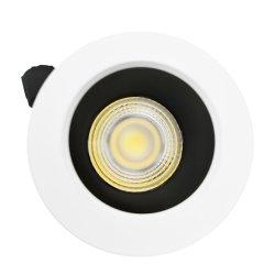 Distributeur Spot prix d'usine 1W/3W/7 W à LED antireflet Triac Spotlight 0-10V et de Dali à gradation 2700K-5000K LED Downlight encastré