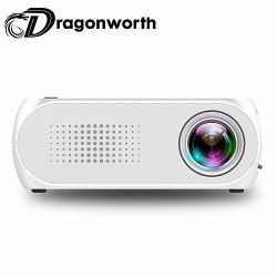 Yg320 Mini proyector proyector proyector LED 500lm HDMI Audio USB Mini Yg-320 Reproductor de medios de cine en casa Projetor Beamer