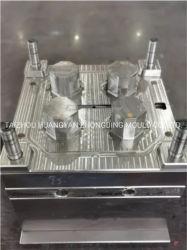 Personalizar el tamaño del molde de inyección de moldeo de piezas de plástico molde para cuatro orificios del molde de Productos Contacto