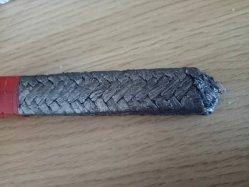 Widerstehender Graphitfaser-packender Stahlhochtemperaturdraht verstärkte